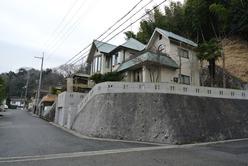 琵琶湖を望む輸入デザインの邸宅